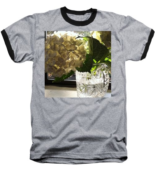 Flowers Always Inspire! Baseball T-Shirt