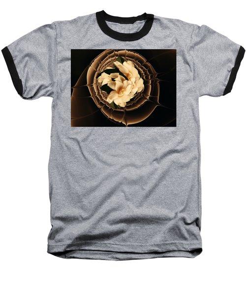 Flowers And Chocolate Baseball T-Shirt