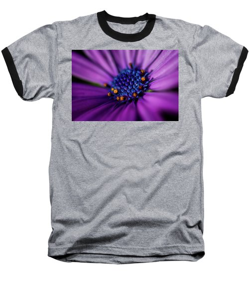 Baseball T-Shirt featuring the photograph Flowers And Sand by Darren White