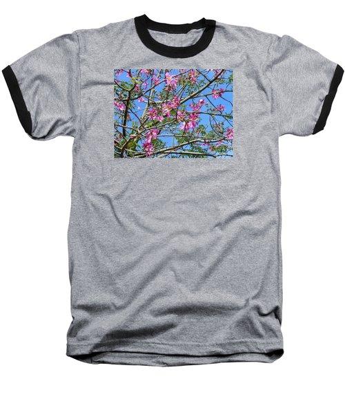 Flowers At Epcot Baseball T-Shirt