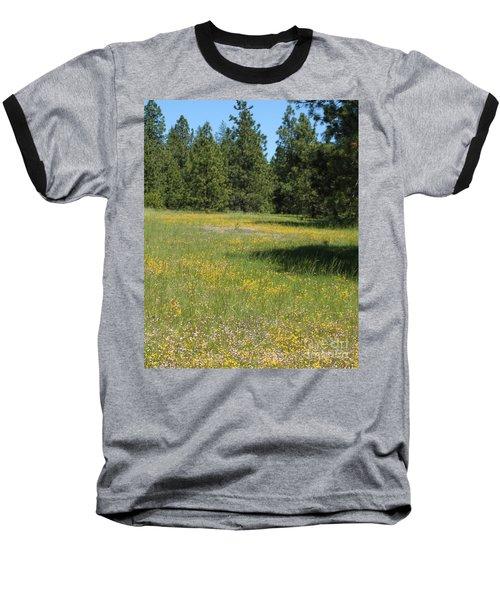 Flowers At Fish Hatchery Baseball T-Shirt