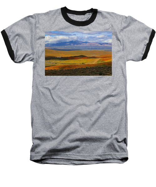 Baseball T-Shirt featuring the photograph Flowers Carpet by Viktor Savchenko
