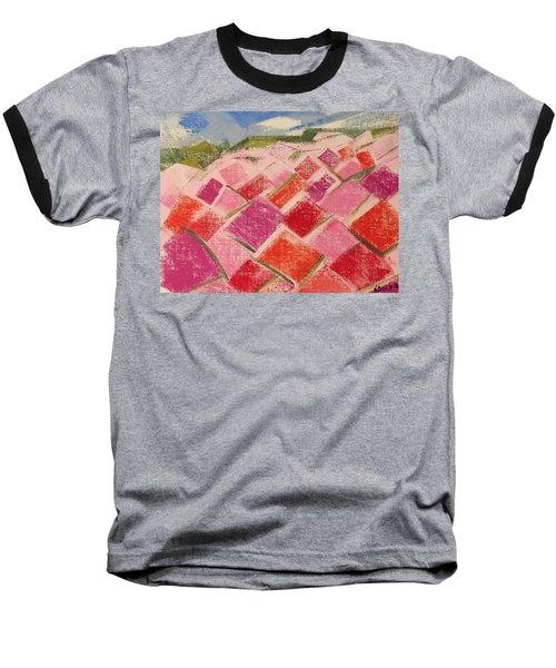 Flowers Fields Baseball T-Shirt