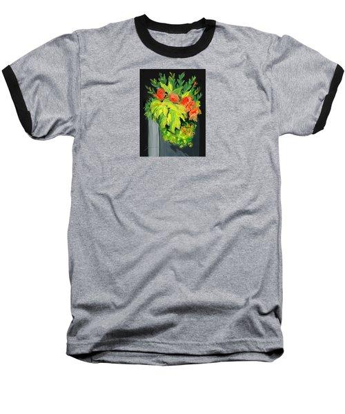 Flowers For Cricket Baseball T-Shirt