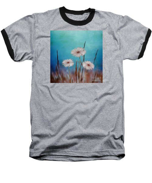 Baseball T-Shirt featuring the digital art Flowers For Eternity 2 by Klara Acel