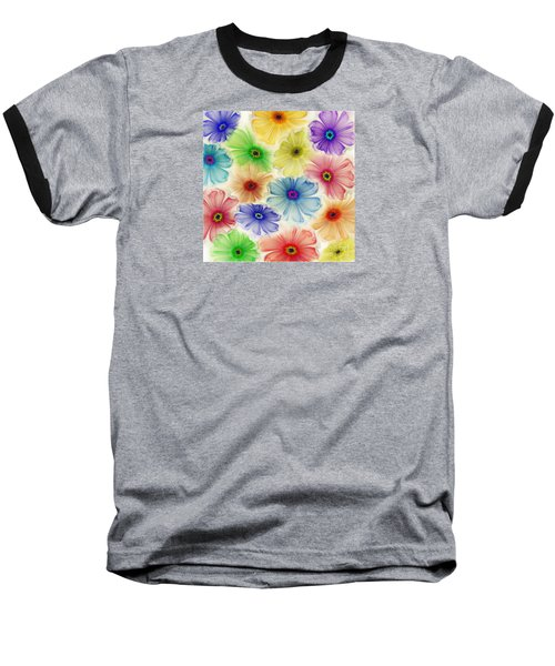 Baseball T-Shirt featuring the digital art Flowers For Eternity by Klara Acel