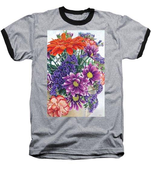 Flowers From Daughter Baseball T-Shirt