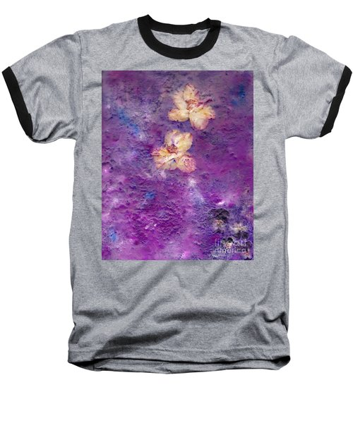 Flowers From The Garden Baseball T-Shirt