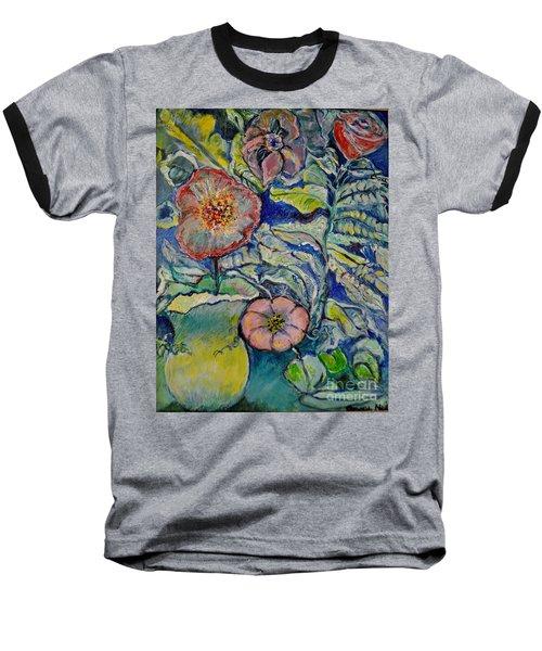 Flowers Gone Wild Baseball T-Shirt