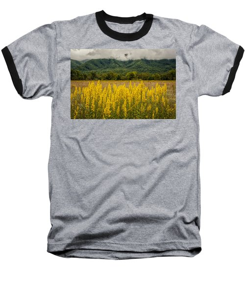 Flowers In Cades Cove Baseball T-Shirt by Tyson Smith