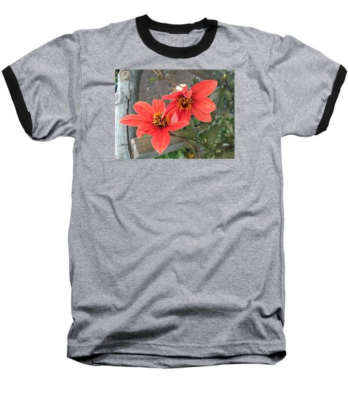 Flowers In Love Baseball T-Shirt