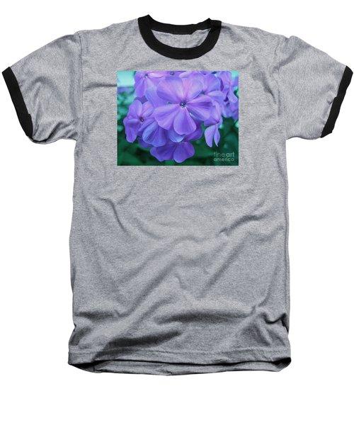 Flowers In The Garden Baseball T-Shirt