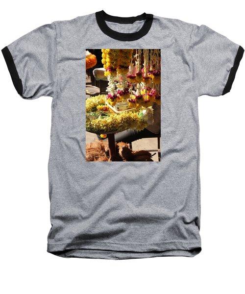 Flowers In The Market, Near Sajjangad 2 Baseball T-Shirt