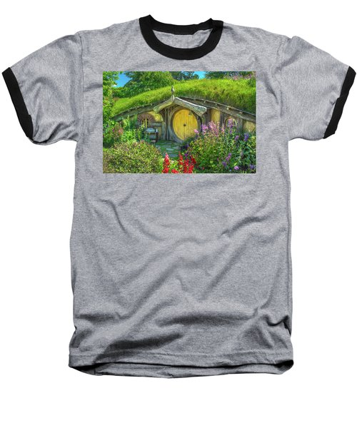 Flowers In The Shire Baseball T-Shirt