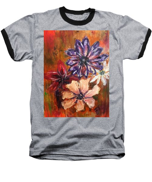 Flowers In The Spring Baseball T-Shirt