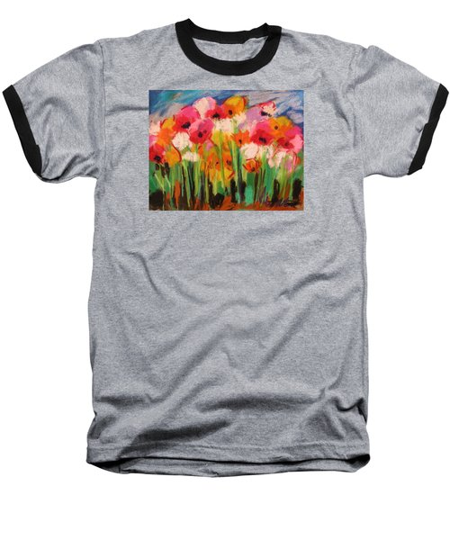 Flowers Baseball T-Shirt by John Williams