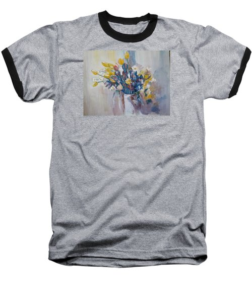 Tulips Flowers Baseball T-Shirt