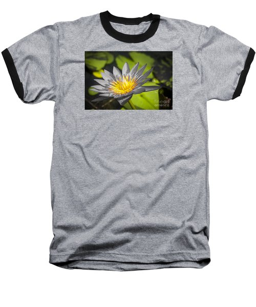 Flowers Of Grey Baseball T-Shirt