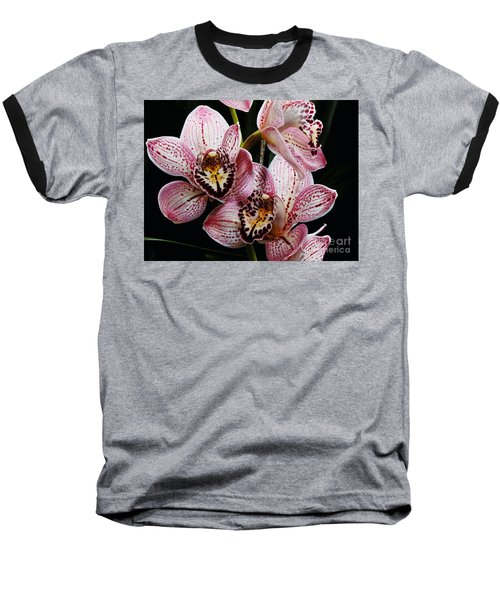 Flowers Of Love Baseball T-Shirt by Scott Cameron