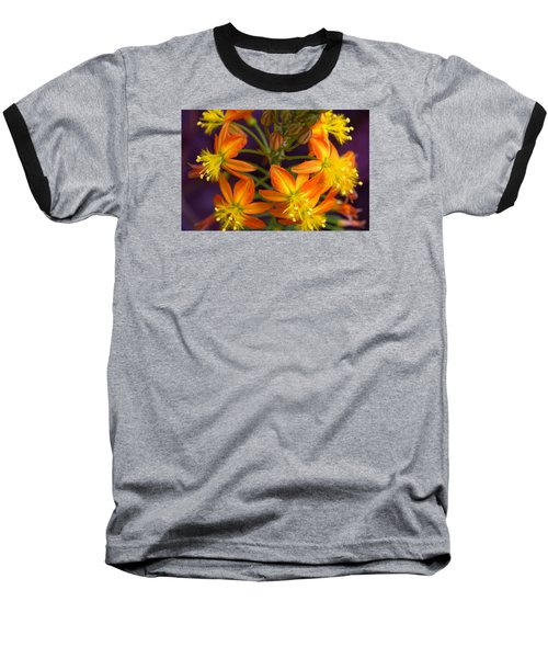 Flowers Of Spring Baseball T-Shirt by Stephen Anderson