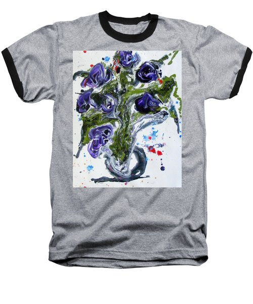 Flowers Of The Mind Baseball T-Shirt
