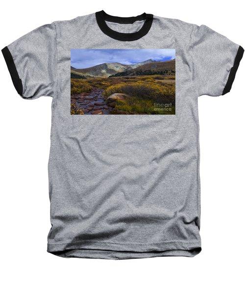 Flowing From Bierstadt Baseball T-Shirt