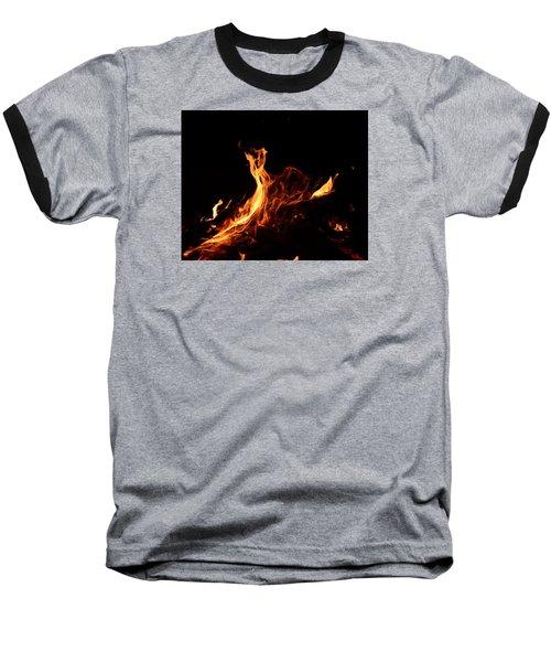 Flowing Baseball T-Shirt by Janet Rockburn
