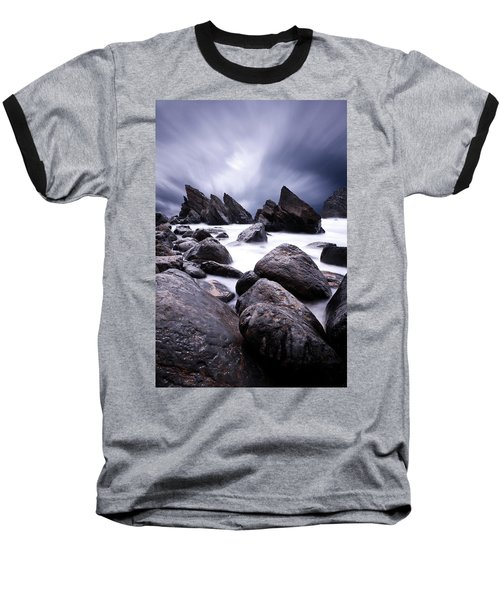 Baseball T-Shirt featuring the photograph Flowing by Jorge Maia
