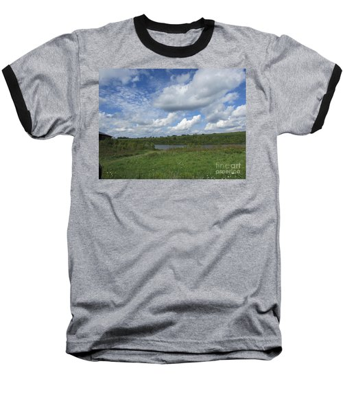 Flowing Low Baseball T-Shirt