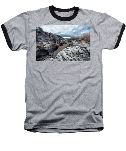 Flowing To The Storm Idaho Journey Landscape Art By Kaylyn Franks Baseball T-Shirt
