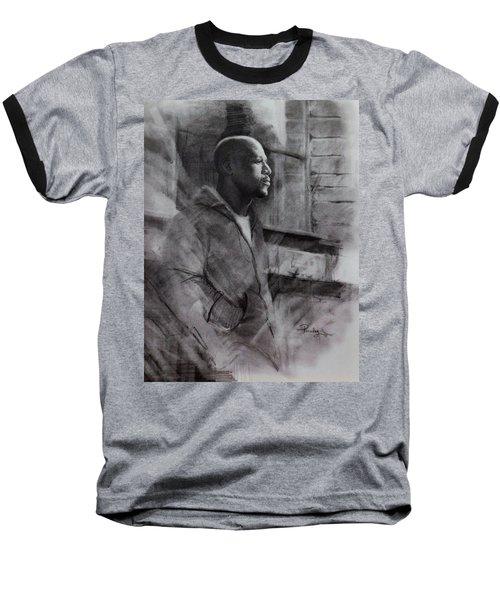 Reflections Of Floyd Mayweather Baseball T-Shirt