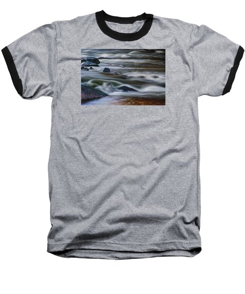 Baseball T-Shirt featuring the photograph Fluid Motion by Steven Richardson