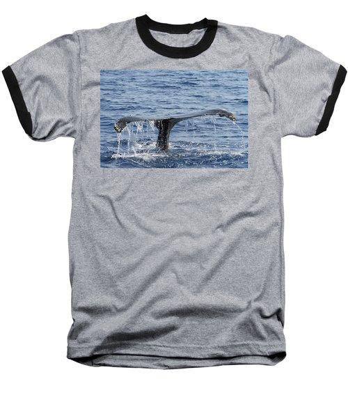 Fluke  Baseball T-Shirt by Shoal Hollingsworth