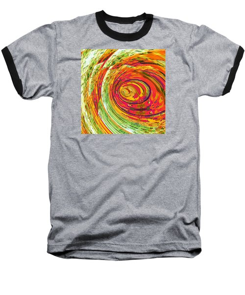 Fluorescent Wormhole Baseball T-Shirt