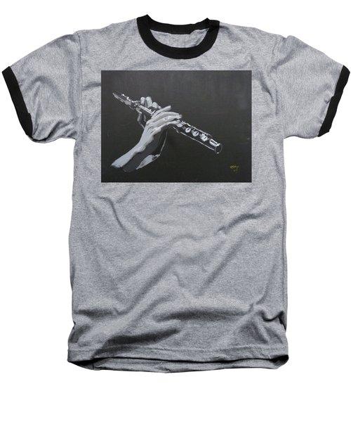 Flute Hands Baseball T-Shirt
