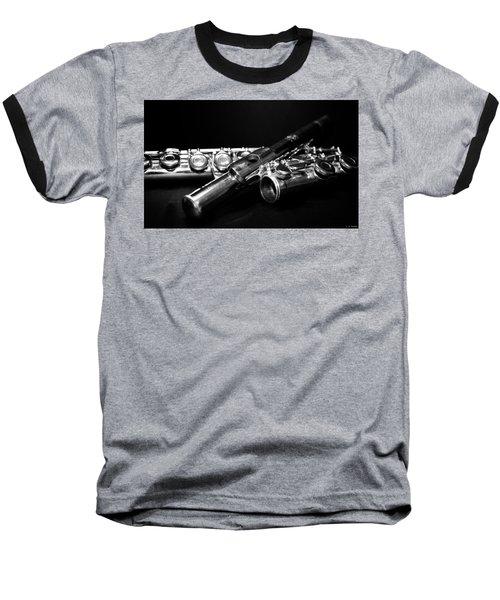 Flute Series I Baseball T-Shirt by Lauren Radke