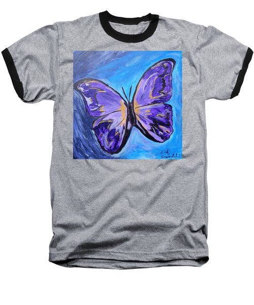 Flutterby Bring The Light Baseball T-Shirt