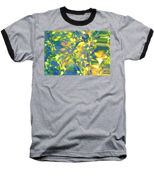 Fluttering Of Color Baseball T-Shirt