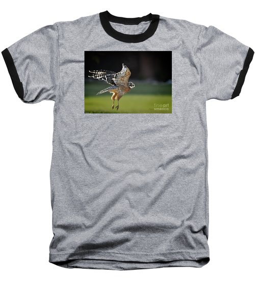 Baseball T-Shirt featuring the photograph Fly Away by Nava Thompson
