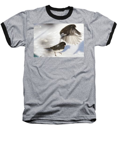 Fly By Baseball T-Shirt by Gary Wightman