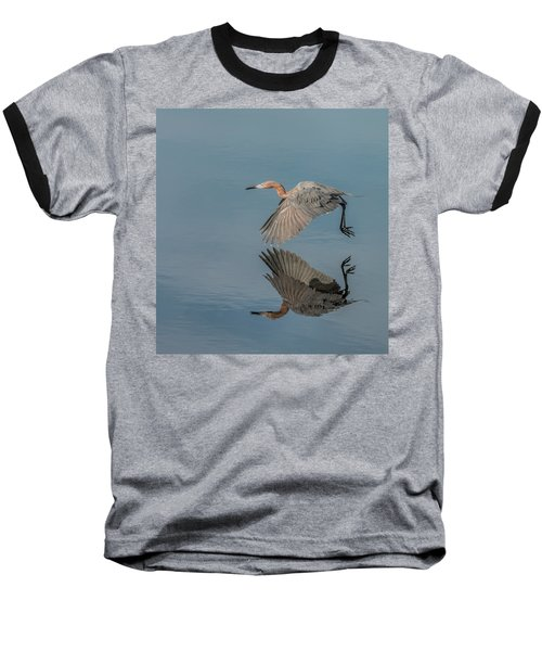 Fly By Reflection Baseball T-Shirt