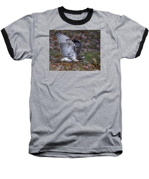 Fly By Baseball T-Shirt by Stephen Flint