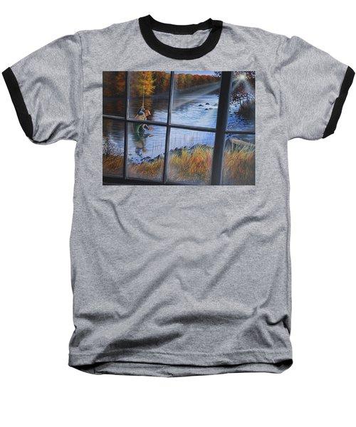 Fly Fisher Baseball T-Shirt