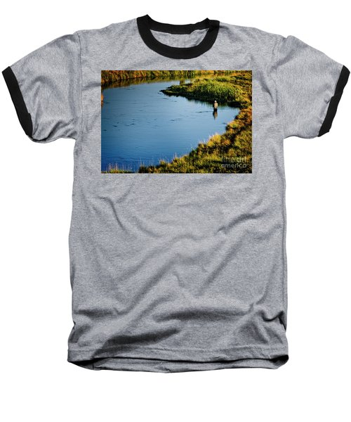 Fly Fishing  Baseball T-Shirt