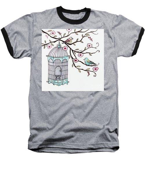 Fly Free Baseball T-Shirt