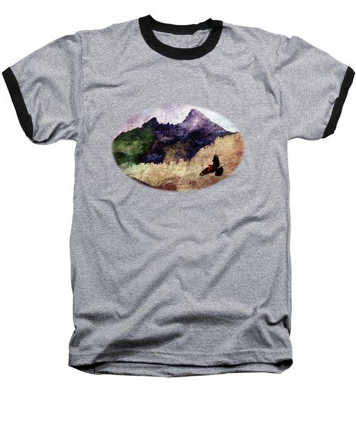 Fly High Baseball T-Shirt by AugenWerk Susann Serfezi