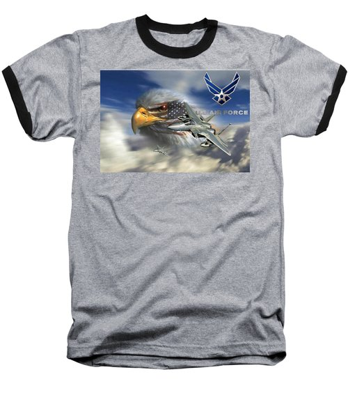 Fly Like The Eagle Baseball T-Shirt