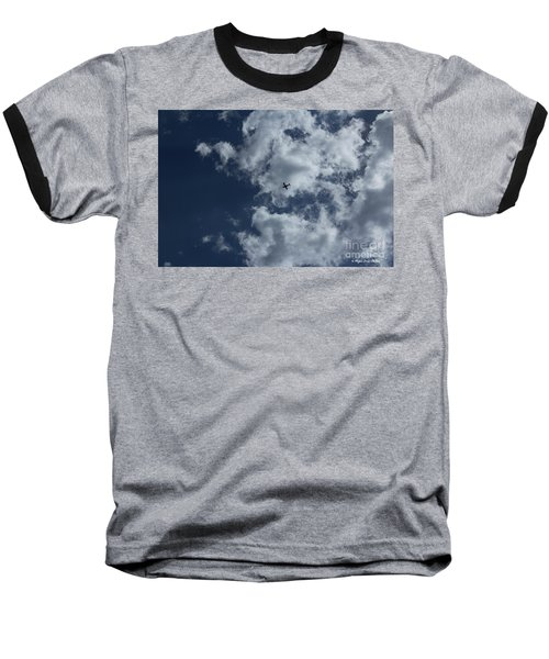 Baseball T-Shirt featuring the photograph Fly Me To The Moon by Megan Dirsa-DuBois
