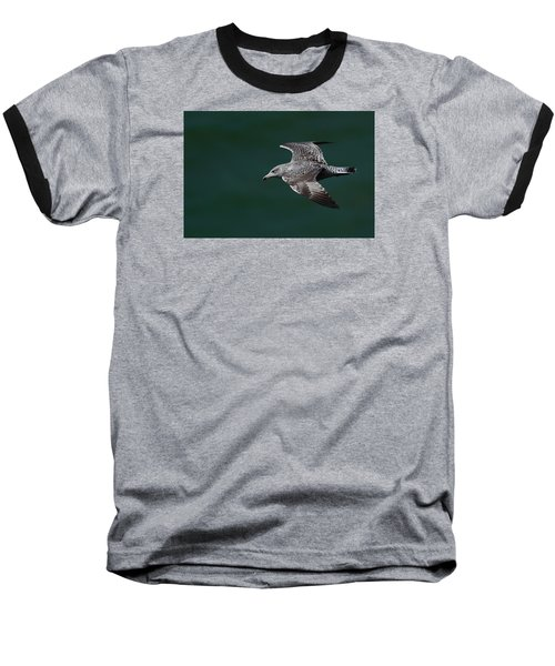 Baseball T-Shirt featuring the photograph Flyby by Richard Patmore