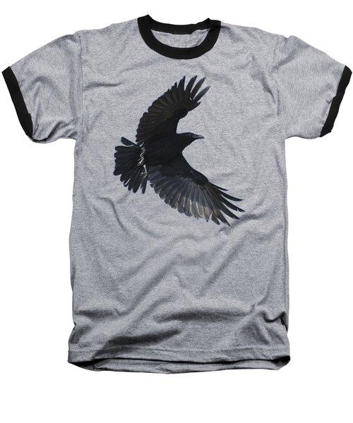 Flying Crow Baseball T-Shirt